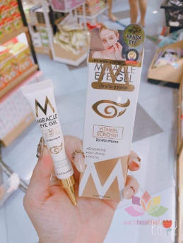 Kem trị thâm mắt Miracle Eye Gel Vitamin Ecriched ảnh 3