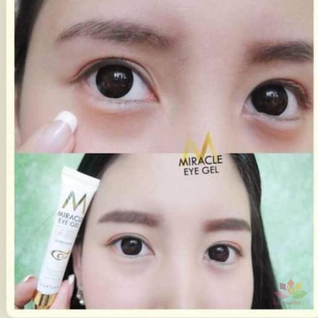 Kem trị thâm mắt Miracle Eye Gel Vitamin Ecriched ảnh 5