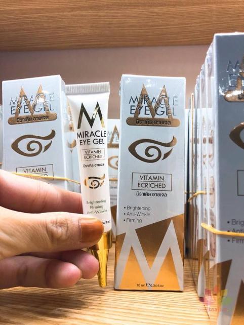 Kem trị thâm mắt Miracle Eye Gel Vitamin Ecriched ảnh 9
