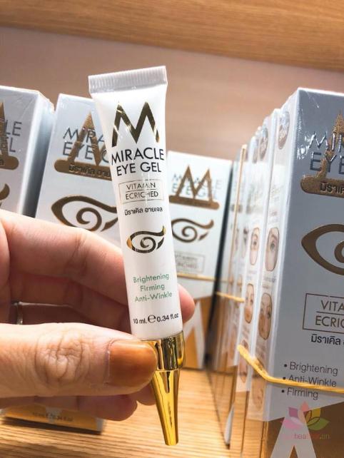 Kem trị thâm mắt Miracle Eye Gel Vitamin Ecriched ảnh 10