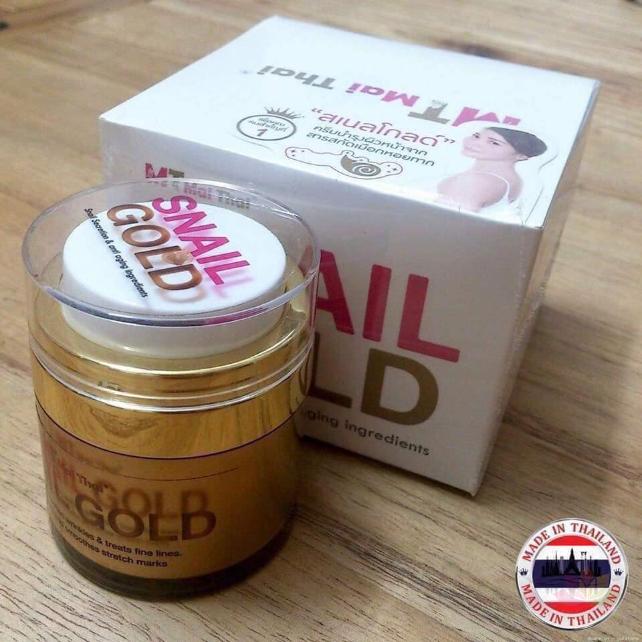 Kem ốc sên MT Mai Thai Snail Gold ảnh 12