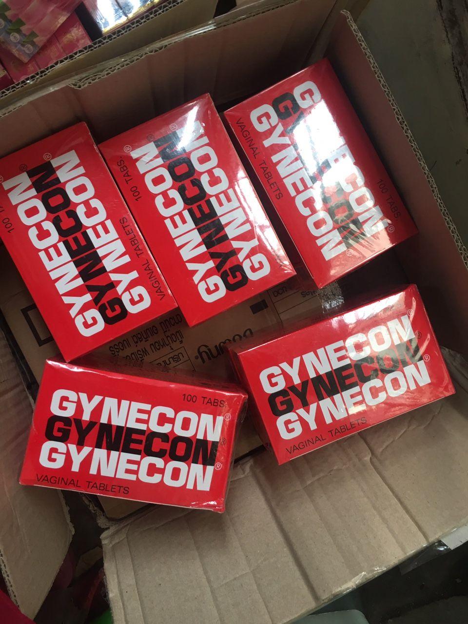 Viên đặt phụ khoa Gynecon trà xanh Thái Lan