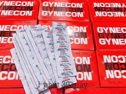 Viên đặt phụ khoa Gynecon trà xanh Thái Lan ảnh 14