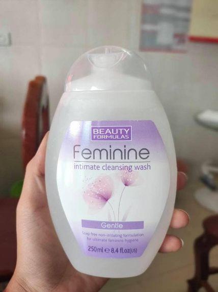 Dung dịch vệ sinh Beauty Formulas Feminine ảnh 3