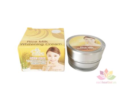 Kem dưỡng trắng Rice Milk Whitening Cream ảnh 1
