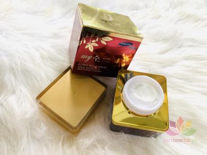Kem hồng sâm Korea Red Ginseng Aqua Cream ngày và đêm ảnh 6