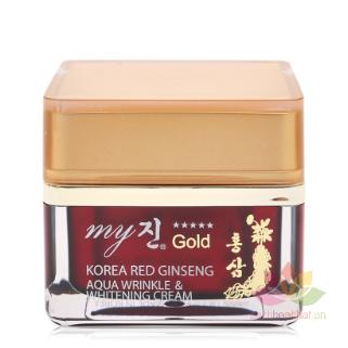 Kem hồng sâm Korea Red Ginseng Aqua Cream ngày và đêm ảnh 2