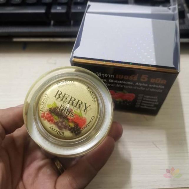 Kem trị nám dưỡng trắng da Berry Plus Extra Whitening Cream ảnh 6