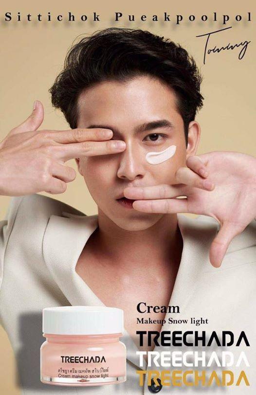 Kem che khuyết điểm TREECHADA Cream makeup snow light