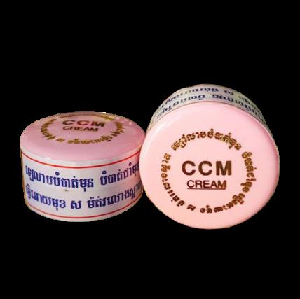 Kem đặc trị nám tàn nhang CCM CREAM Cambodia ảnh 1