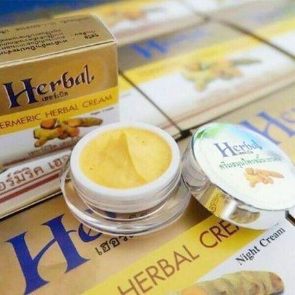 Kem nghệ trị thâm mụn dưỡng trắng Herbal Cream ảnh 8
