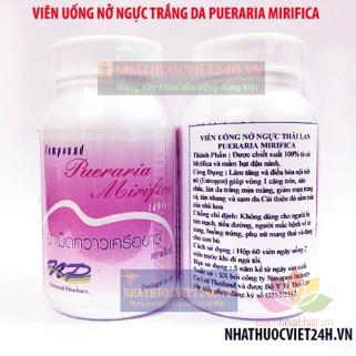 Viên uống nở ngực Pueraria Mirifica Thailand ảnh 9