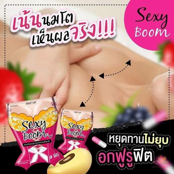 Viên uống nở ngực Sexy Boom 7 Capsules