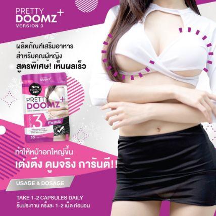 Viên uống nở ngực chăm sóc vùng kín Pretty Doomz Plus ảnh 9