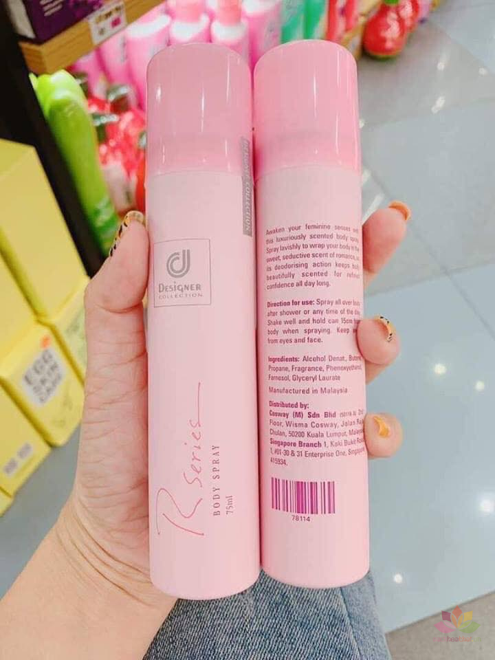 Xịt thơm R Series Body Spray