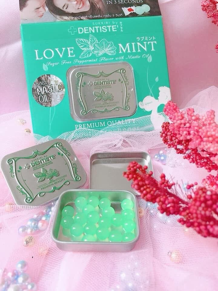 Kẹo phòng the Dentiste Sukkiri Love Mint