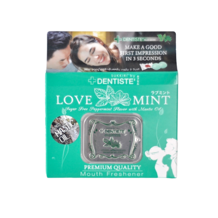 Kẹo phòng the Dentiste Sukkiri Love Mint ảnh 1