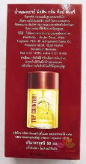 Nước hoa cho Nam Mistine Top Country Perfume Spray ảnh 3