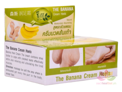 Kem trị nứt gót chân Banana Cream Heels ảnh 1