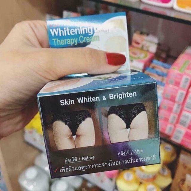Kem làm trắng vùng kín mông và chân Isme Whitening LEG Therapy Cream
