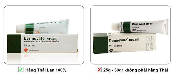 Kem trị chàm vảy nến Dermovate Cream