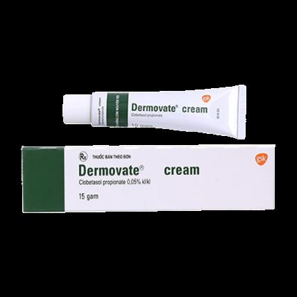 Kem trị chàm vảy nến Dermovate Cream ảnh 1