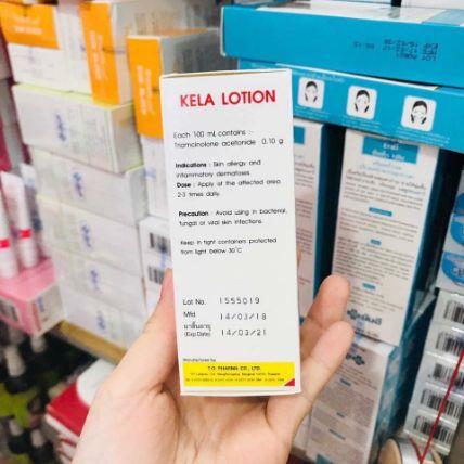 Kela Lotion đặc trị viêm lỗ chân lông ảnh 8