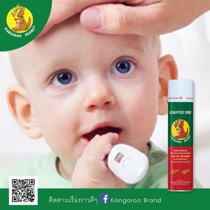 Xịt phòng tinh dầu Kangaroo Eucalyptus Oil Spray ảnh 10