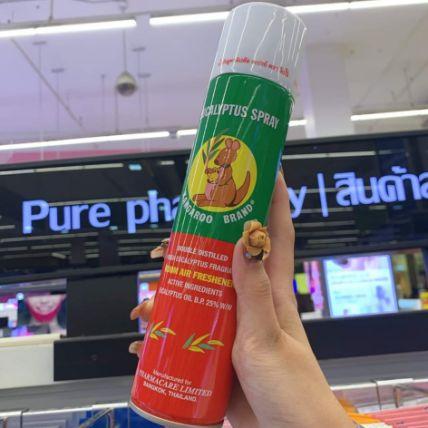 Xịt phòng tinh dầu Kangaroo Eucalyptus Oil Spray ảnh 14