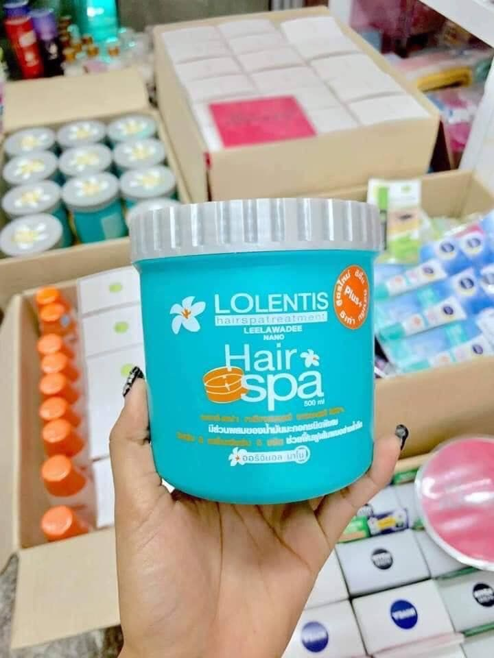 Ủ tóc siêm mềm mượt Lolentis Hair SPA Leelawadee Nano 500 ml